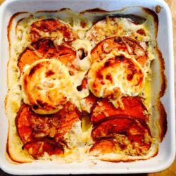 Recette gratin courge fromage